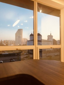 Офис адвокатов Куприяновых - вид из окна